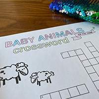 Crossword Early Years Cover Page